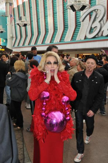 Red Carpet with Joan Rivers Tribute Artist